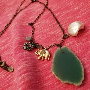 One of a kind charm necklace
